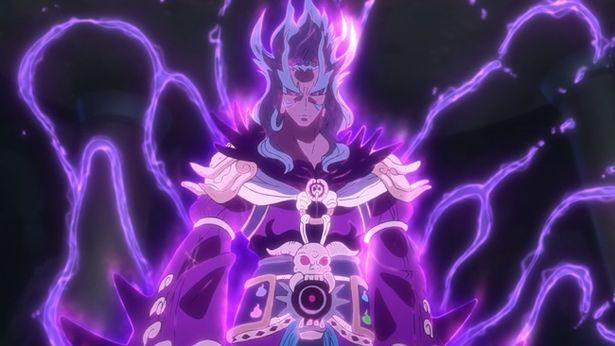紫炎は閻魔大王の座を狙う妖怪