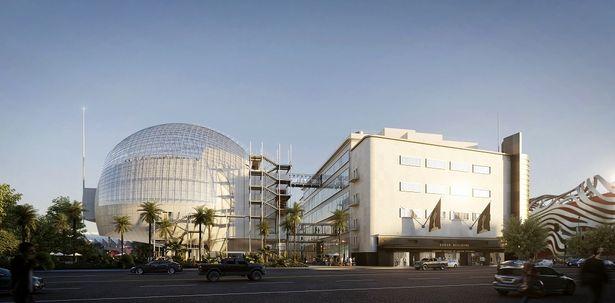 ミュージアム完成予定図、設計はレンゾ・ピアノ