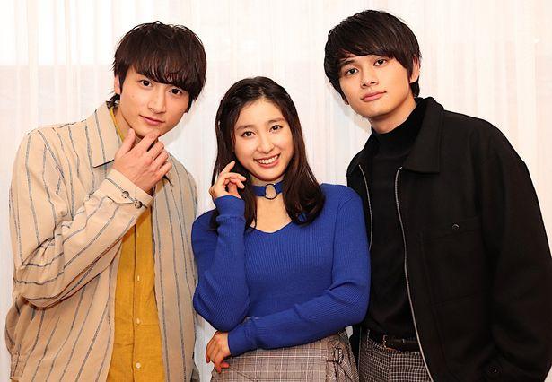 土屋太鳳、北村匠海、小関裕太が笑顔でインタビューに登場!