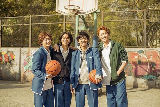 バスケ部の男子4人との出会いが、美月を変えていく