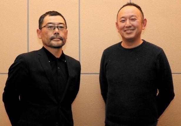 「連続ドラマW  盗まれた顔 ~ミアタリ捜査班~」の武正晴監督と脚本家の足立紳