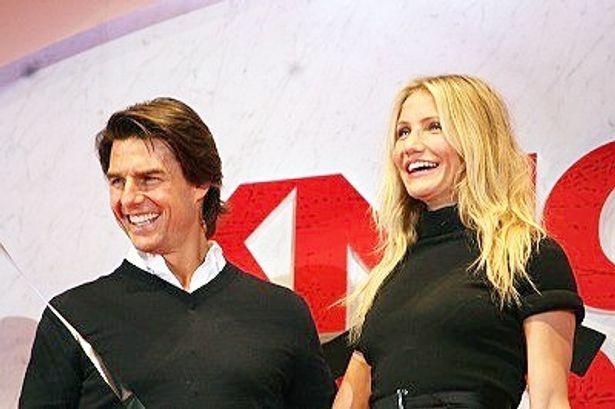 10年ぶりの共演となったトム・クルーズとキャメロン・ディアス(写真左から)
