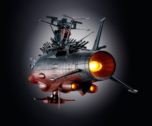 音、光など様々なギミックがてんこ盛り(超合金魂 GX-86 宇宙戦艦ヤマト2202)