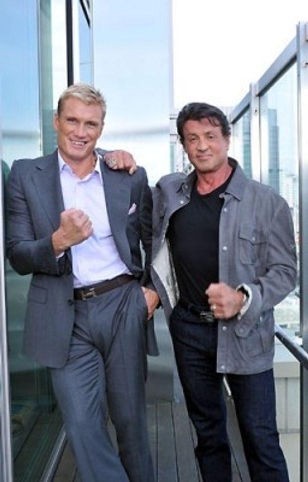『ロッキー4 炎の友情』で死闘を演じたふたりが25年ぶりに共演!