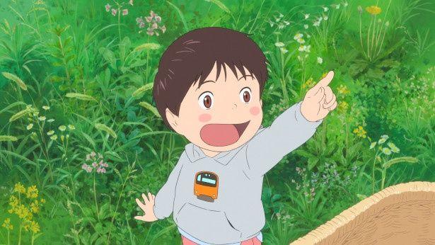 【写真を見る】4歳の少年くんちゃんの生き生きとした表情に注目