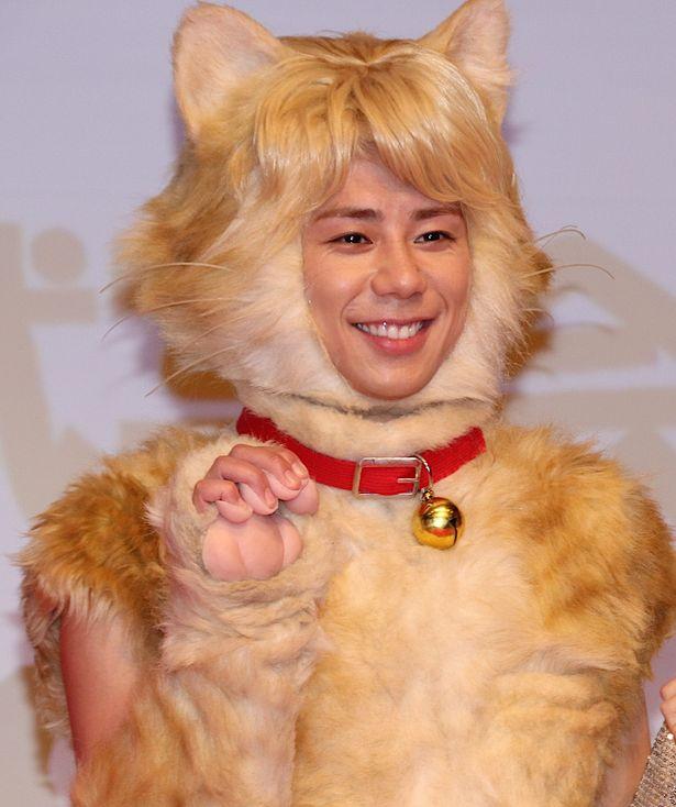 キスマイ北山宏光、猫姿で登場!