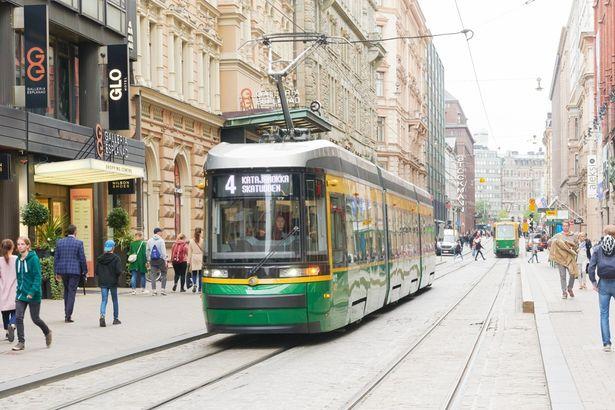 ヘルシンキ市内を移動するならトラムが便利!