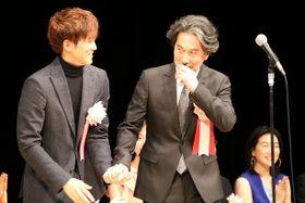 松坂桃李、茶髪でヨコハマ映画祭に登場し会場騒然。役所広司から「ぐれたかな?」