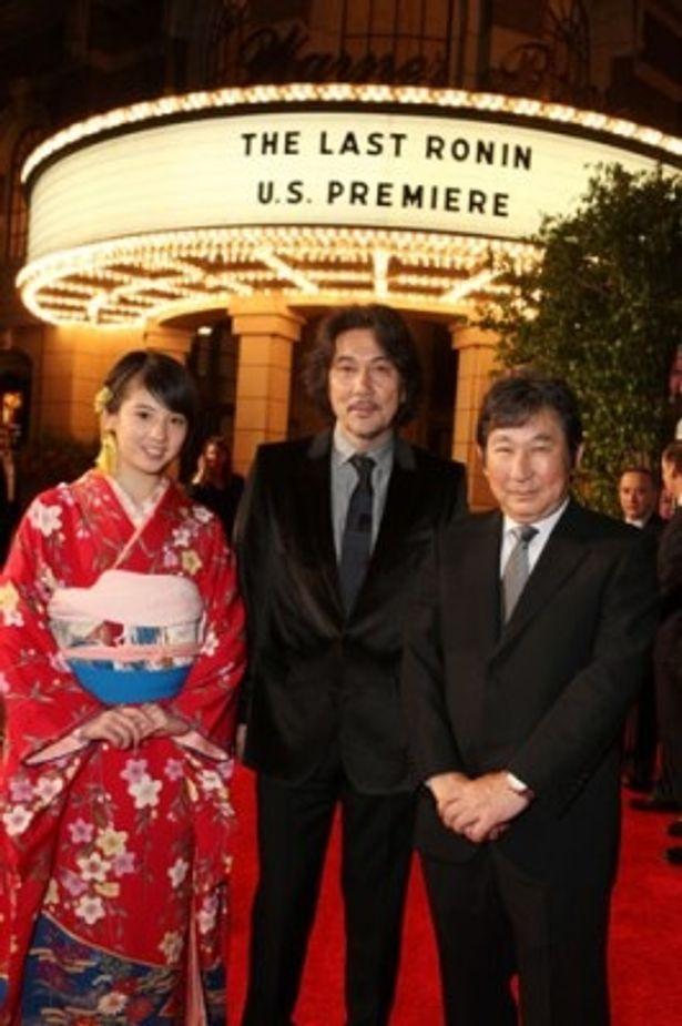 LAプレミアの会場に役所広司、桜庭ななみ、杉田成道監督が集結