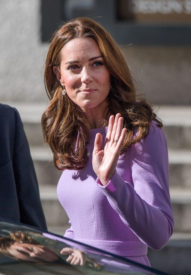 キャサリン妃のレアな反応が話題を呼んでいる