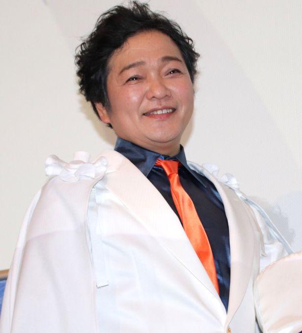 山口勝平、「名探偵コナン」人気キャラの怪盗キッドの姿で登場!