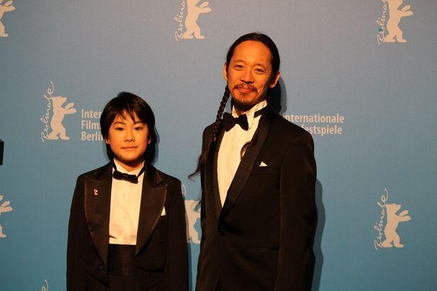 長久允監督と主演の二宮慶多が登壇した(『ウィーアーリトルゾンビーズ』)