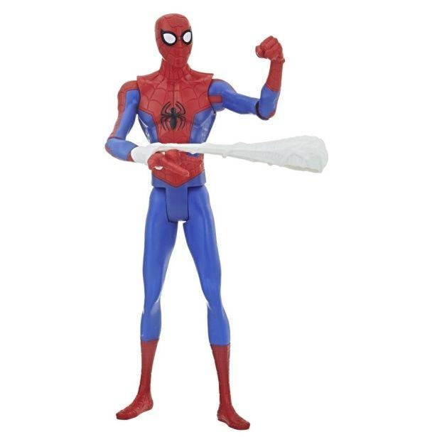【写真を見る】ピーターから、動物のスパイダーマンまで!?(『スパイダーマン:スパイダーバース』【ハズブロ アクションフィギュア】6インチ「ベーシック」ウェーブ1 スパイダーマン)