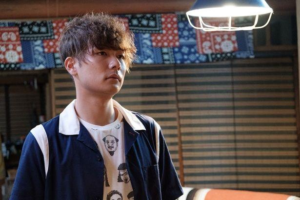 29歳にして未だに自主映画を撮り続けている吉田を演じた田中俊介(『ツチノコの夜』)