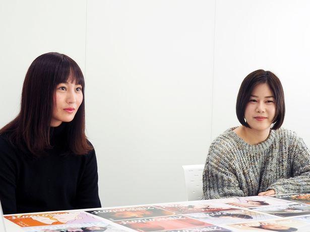 『21世紀の女の子』の企画・プロデュースを務めた山戸監督、松本監督の魅力をおおいに語ってくれた