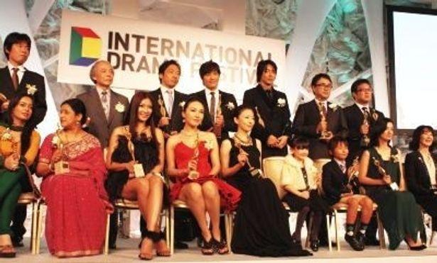 25日、「国際ドラマフェスティバル in TOKYO 2010」東京ドラマアウォードの授賞式が開催された