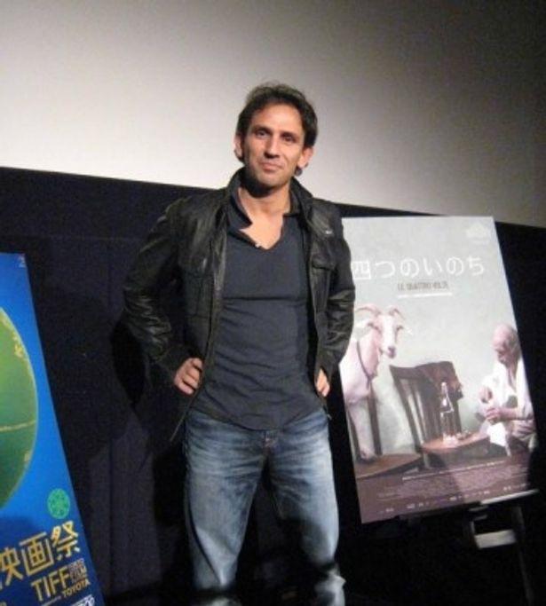 東京国際映画祭公式上映後、ティーチインに出席した『四つのいのち』のミケランジェロ・フランマルティーノ監督