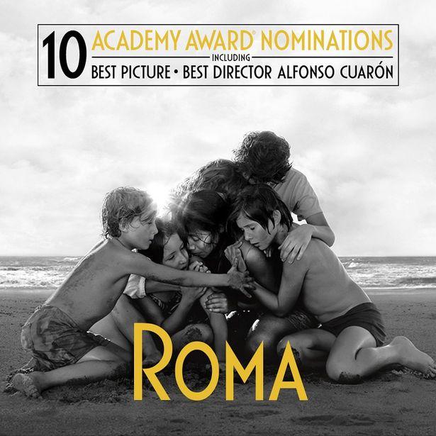作品賞にノミネートされている『ROMA/ローマ』