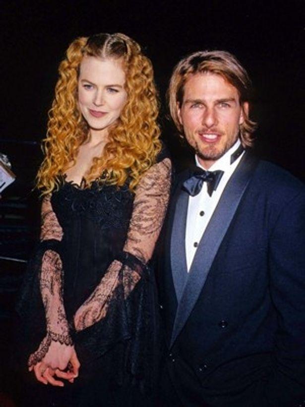 トム・クルーズと前妻二コール・キッドマン