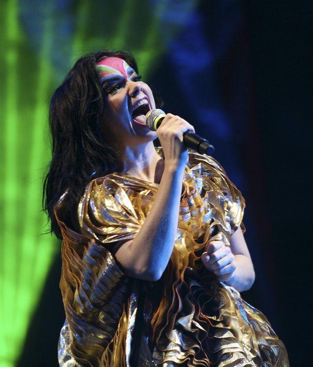 アイスランドの歌手、ビョーク