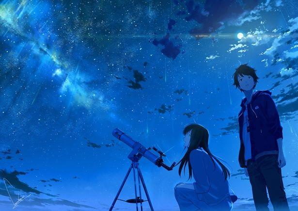 キャラクターはもちろん光の描き方も美しく見る者の心を掴む