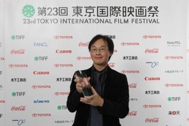 【写真】『歓待』で日本映画・ある視点部門の作品賞を受賞した深田晃司監督