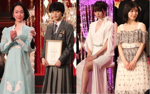 黒木華、平手友梨奈、深田恭子、松岡茉優らのドレスをチェック!
