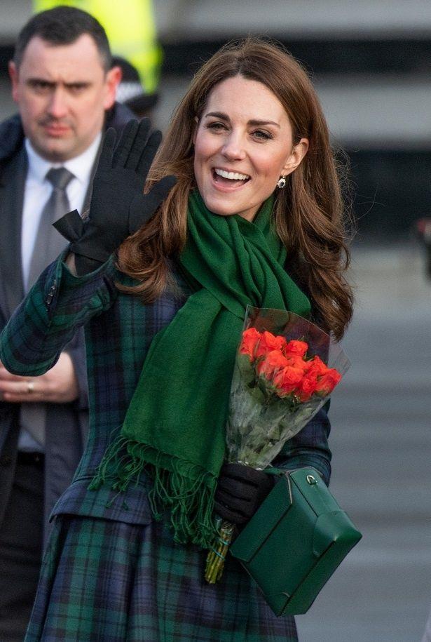 キャサリン妃の見せたレアなヘアスタイルが好評