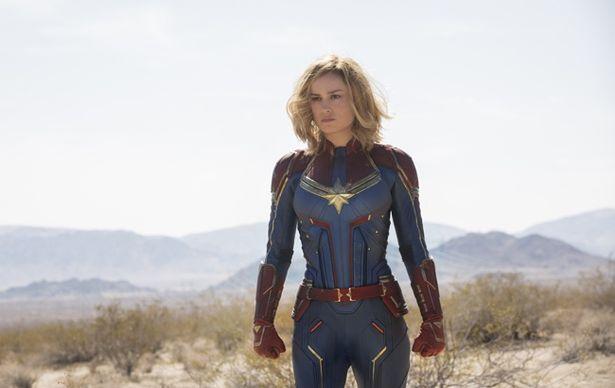 【写真を見る】ブリー・ラーソンがミステリアスな女性ヒーローを演じる(『キャプテン・マーベル』)