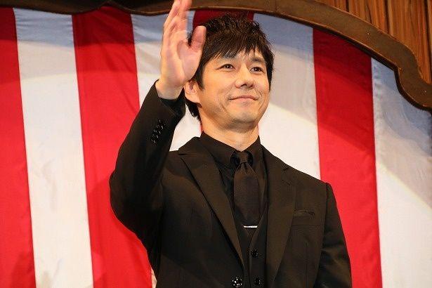 西島秀俊が『ダンボ』のジャパンプレミアに登壇