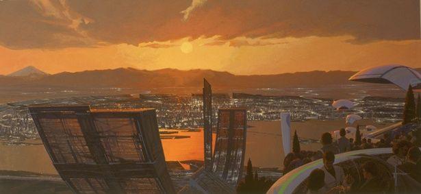 """【写真を見る】あの巨匠が描いた""""2040年の東京""""とは?"""