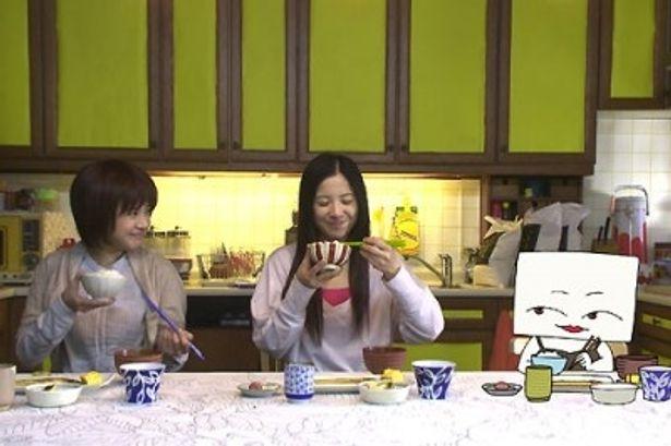 個性的な3姉妹(しかも1人は豆腐!)を演じる吉高由里子