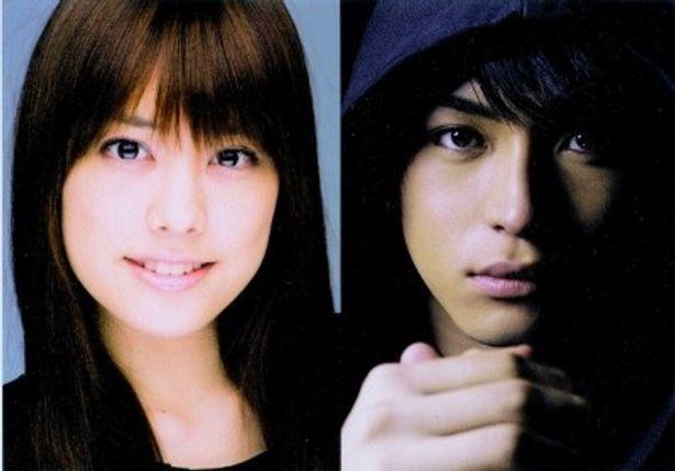 奇抜な役柄で新境地に挑戦する福田沙紀とドラマ初主演となる松下優也(写真左から)