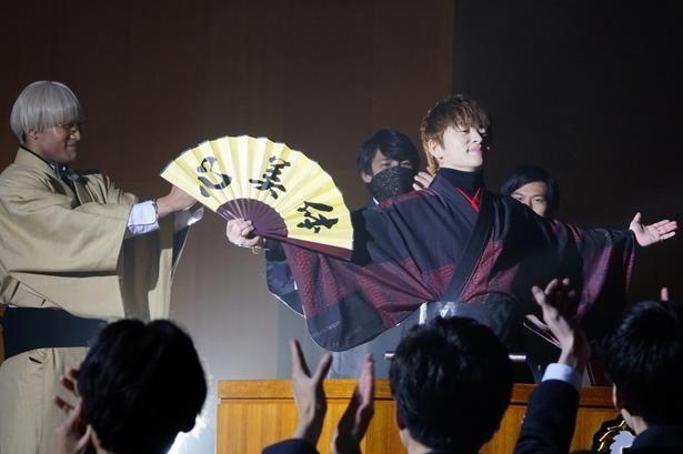 佐野玲於と関口メンディーが、名コンビの「Team生徒会」を演じた