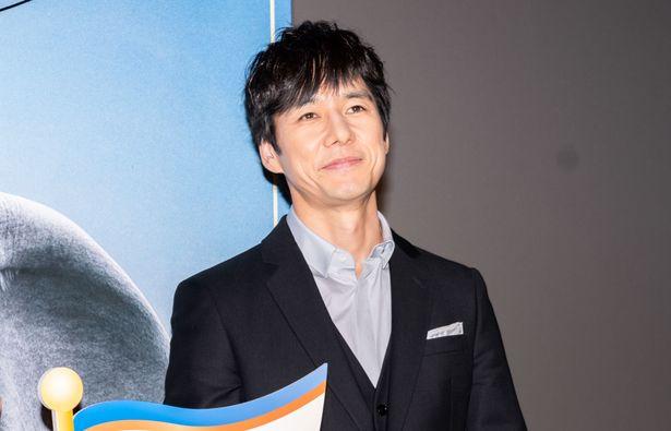 『ダンボ』公開御礼舞台挨拶に登壇した西島秀俊