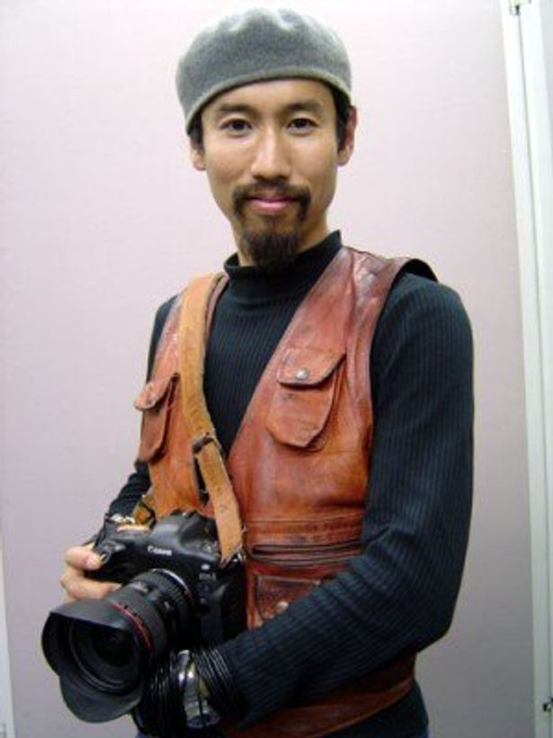 イベントでは戦場カメラマン・渡部陽一が登壇。いったい、どんな恋愛トークを繰り広げるのか?