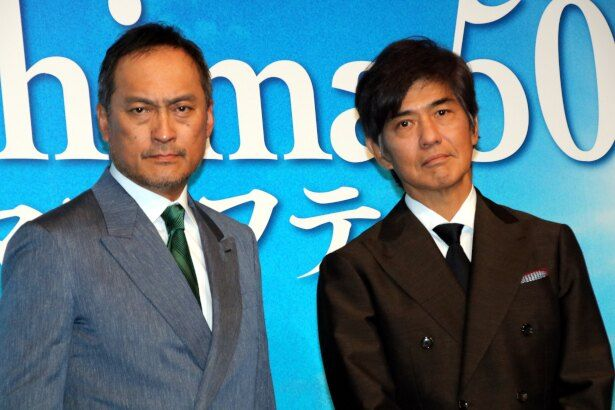 『Fukushima 50』に出演した佐藤浩市と渡辺謙