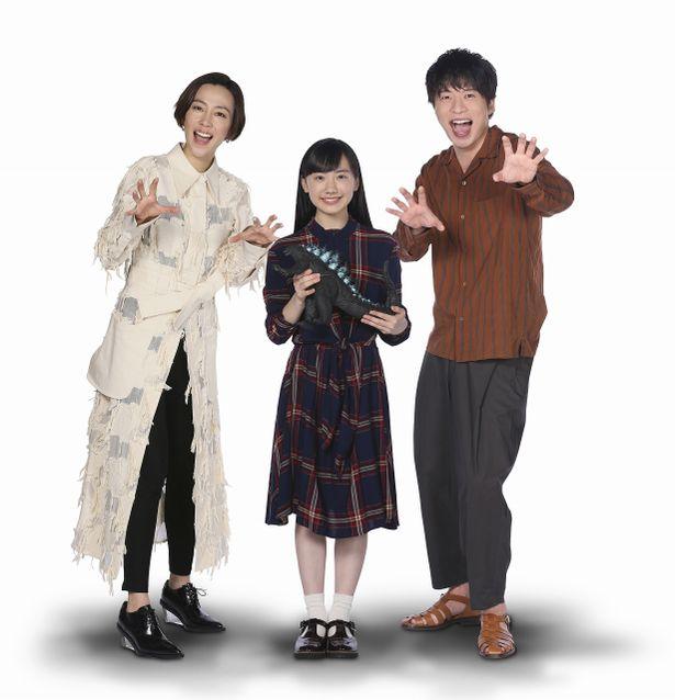 ゴジラポーズで気合十分!『ゴジラ キング・オブ・モンスターズ』日本語吹替え版キャスト発表