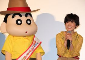 """""""2代目しんのすけ""""小林由美子、初の劇場版に「緊張で眠れない日々」ファンの笑顔を見て感無量!"""