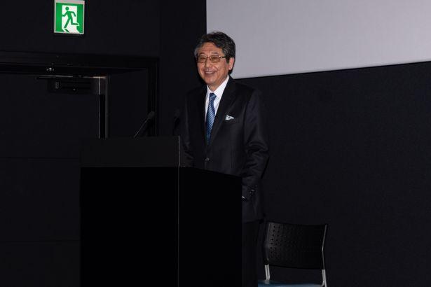 「Dolby Cinema」の魅力を語った大沢幸弘氏