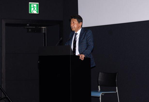 劇場を運営する株式会社松竹マルチプレックスシアターズの熊谷浩二代表取締役社長