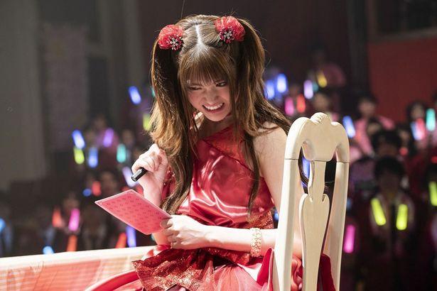 ドラマで夢子に敗北したユメミも劇場版に登場(ドラマseason2第3話より)