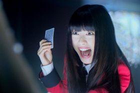 『賭ケグルイ』で浜辺美波が、松村沙友理が、伊藤万理華が、あんな表情に…ギャンブル狂の顔がスゴイ!<写真11点>