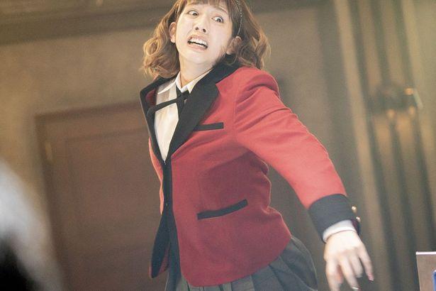 松田るか演じる皇伊月は、ドラマseason2で重要なキャラクターとなった(ドラマseason2最終話より)