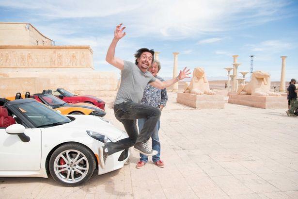 イギリスの人気司会者ら3人組が世界中をドライブする「グランド・ツアー」