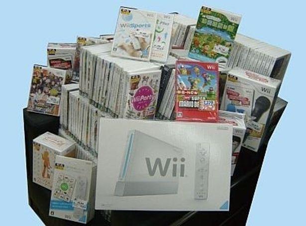 エンターキングから発売される「Wiiコンプリート福袋」(100万円)