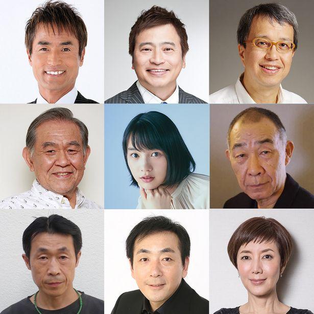 舞台でおなじみのコーラスグループ「山田修とハローナイツ」がスクリーンに参上!