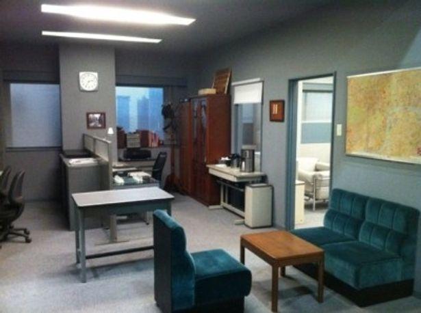 完全再現される特命係の部屋は撮影スポットとなっている