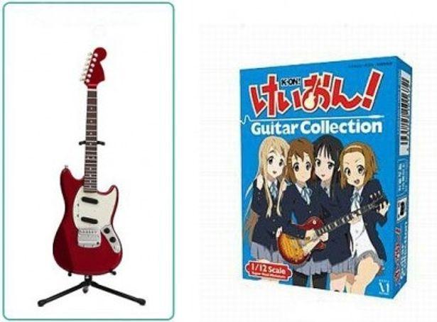 12/7に発売されるメディアファクトリー「けいおん!ギターコレクション」(420円)
