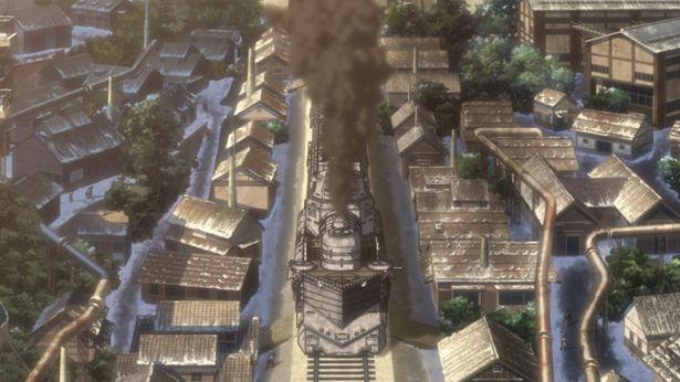 安息の地を求めて甲鉄城が日ノ本を走り抜ける